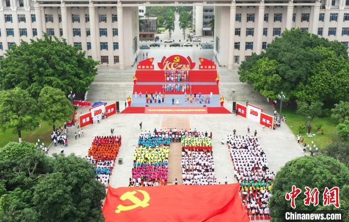 图为活动现场。 广西大学团委供图 摄