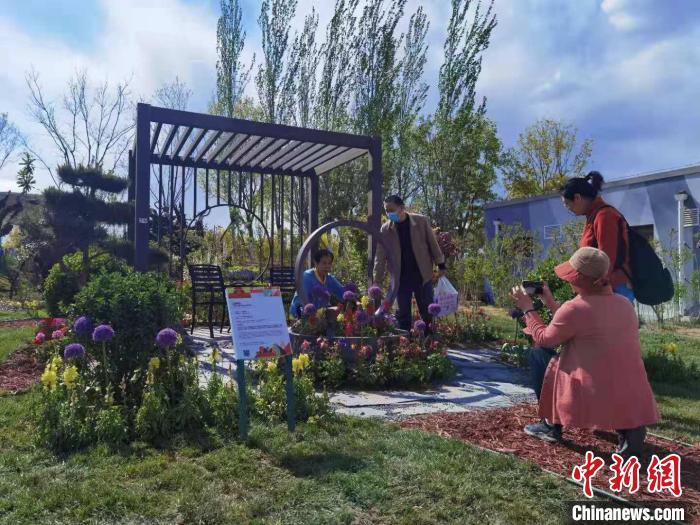 28日,第二届北京国际花园节开幕仪式在北京世园公园举行。 陈杭 摄