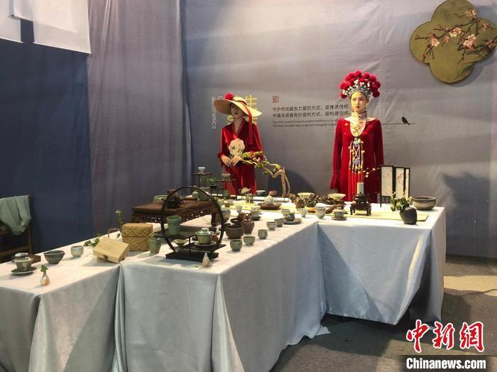 温州文博会现场。 潘沁文 摄